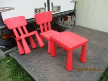 Laste plastikust mööbel