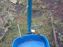 Metsaistutustoru Sisuputki 55mm + kast rihmadega
