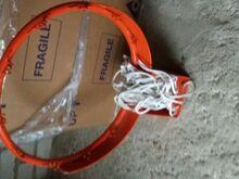 Korvpallirõngas koos võrguga, tugevdatud,