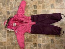 Tüdruku kevad-sügisene kombekas 110 cm