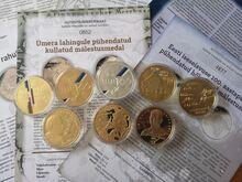 Eesti 100 pühendatud medalid, 8tk