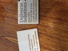 Puidust visiitkaardid