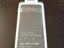 Samsung Galaxy Note9 Led view cower