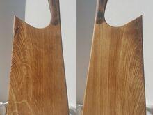 Haruldane puidust lõikelaud  ja serveerimisalus.