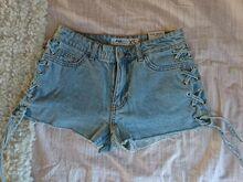 Uued lühikesed püksid (teksad)