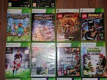11 Xbox 360 mängu ja 4 Xbox 360 kinect mängu