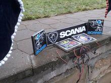 Scania kardinad lastud teha kui uued ja tuled akna