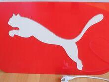 Puma reklaam valguskast töökorras