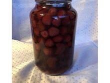 Maasikakompott rabarberi ja mureliga 1,7l