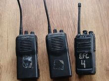 3 Raadiosaatjat 2x Kenwood TK-3101 1x HYT TC-446S