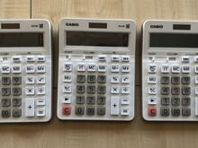 Kalkulaator Citizen valge, 3tk komplektis