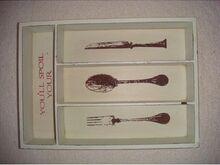 Nuga, kahvel, lusikas,söögiriistade hoidik, UUS