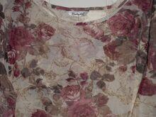 Berkertex õhuline roosidega pluus L-XL