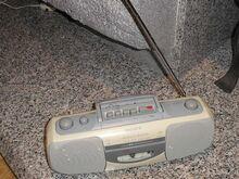 Tasku raadio kassett makk Sony