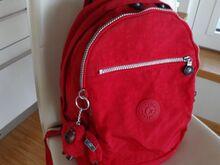 Kipling punane koolikott, seljakott