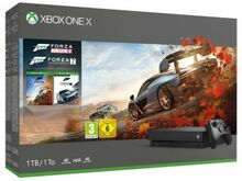 Xbox one x 1tb forza edition