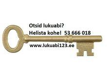 Lukkude avamine - paigaldus - lukuabi