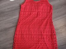 Neoonroosa kleit.