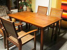 Aiamööbel laud ja toolid
