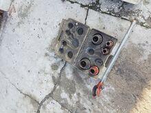 Tavaline ja elektriline torukeermestaja komplekt