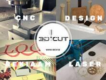 Pakume 2D-3D CNC teenust.