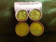 Euro commemorative coins