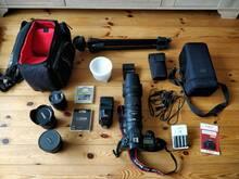Fotokaamera komplekt Canon MKII 7D (