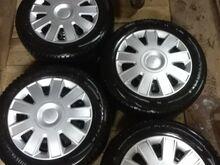 Ford veljed + lamell rehvid 195/65 R15