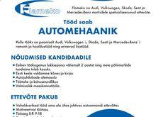 Automehaanik Mustamäel Tallinnas