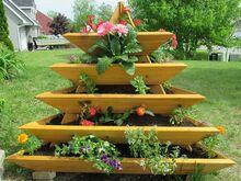 Taimepüramiid lillekast