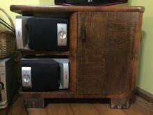 TV - laud/telerialus, väiksem kapp