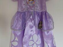 Uus printsess Sofia kleit s.98/104 ja 110/116