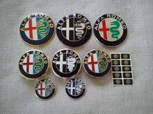 Alfa Romeo veljekapslid ja kapoti märk/ embleem