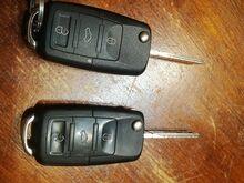 Vw võtmed.