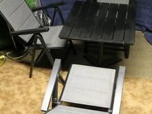 Terrassilaud ja toolid ilmastikukindlad