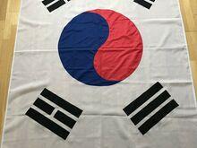 Lõuna-Korea lipp, lipp