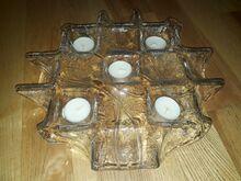 Handmade in Finland klaasist teeküünla alus