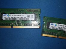 2x 2GB 1Rx8 PC3 SÜLEARVUTI RAM