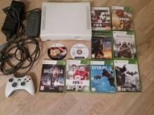 Xbox360 + 10 games xbox 360