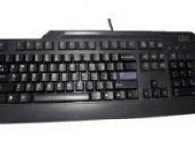 Juhtmega klaviatuur IBM ENG PS2