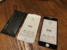 IPhone 7/8 plus kaitseklaasid
