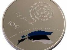 Eesti 100. sünnipäevale pühendatud hõbemünt