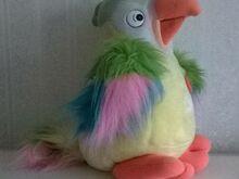Pehme mänguasi Rääkiv papagoi