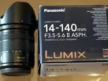 LUMIX G VARIO 14-140MM F3.5-5.6 II UUS MUDEL