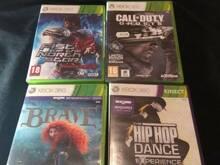 Xbox 360 mängud ka kinect