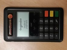Kaardimakse nutiterminal (Swedbank)