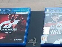 PS4 orig. mängud Gran Turismo sport ja NHL 18