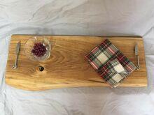 Haruldane puidust lõikelaud ja serveerimisalus