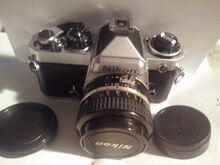 NIkon FE Nikon Nikkor AI-S1: 1,4 50mm