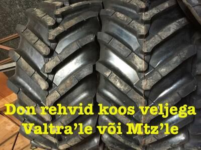 Don rehvid 30,5x 32 + veljed MTZ- le ja Valtrale